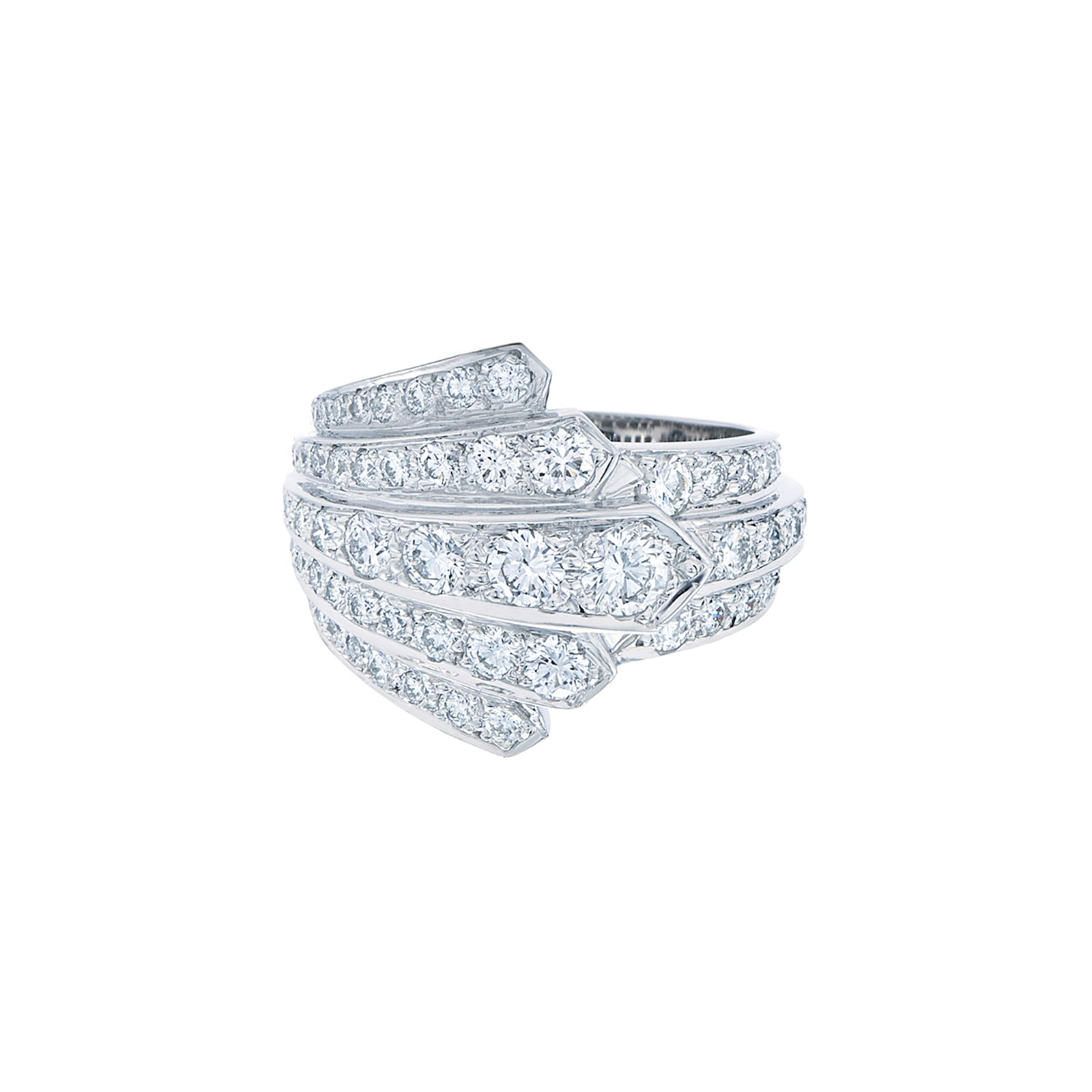 Kwiat Cascade Diamond Ring - Rings - Broken English Jewelry