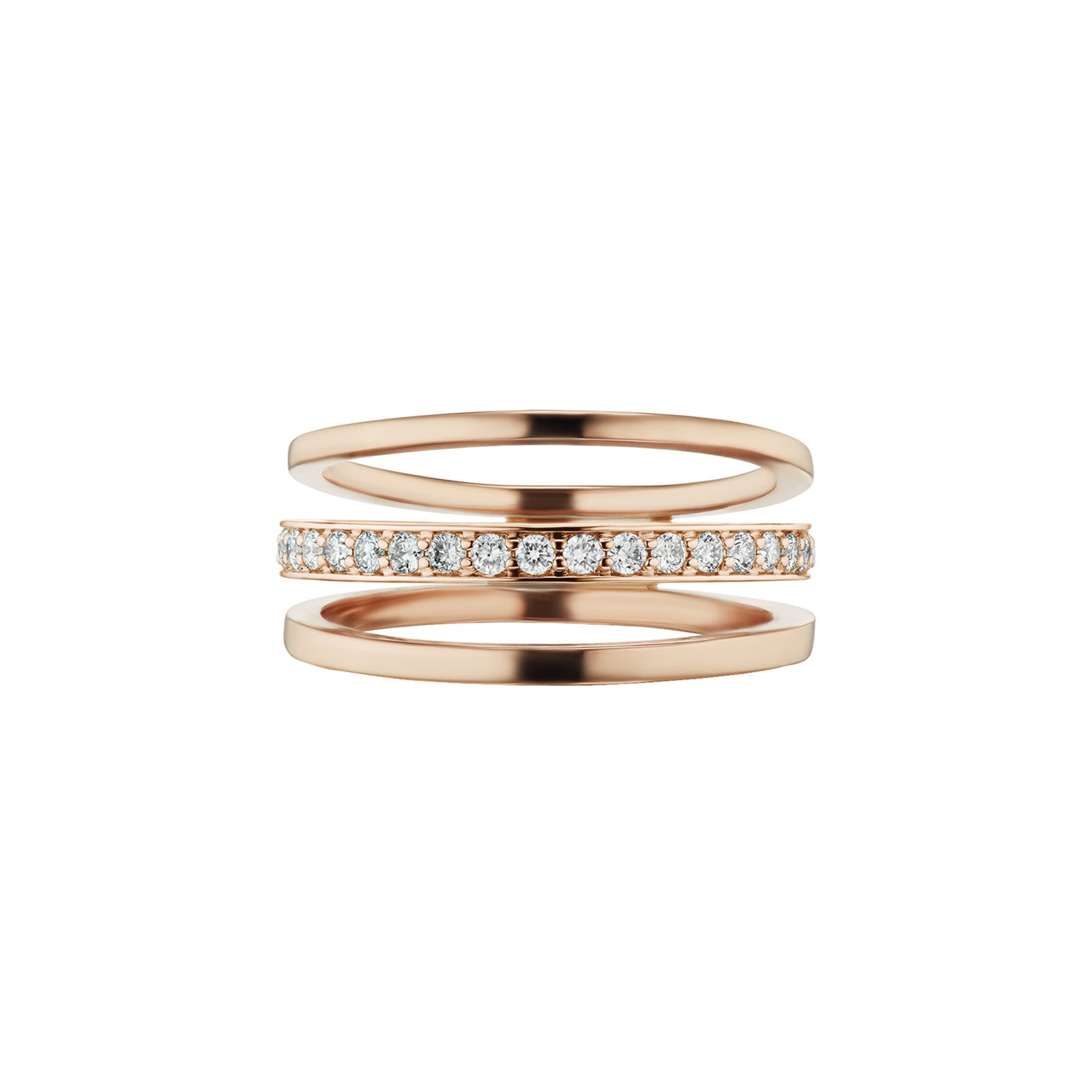 al.tru.ist Espionne Ring III - Rose Gold - Rings - Broken English Jewelry