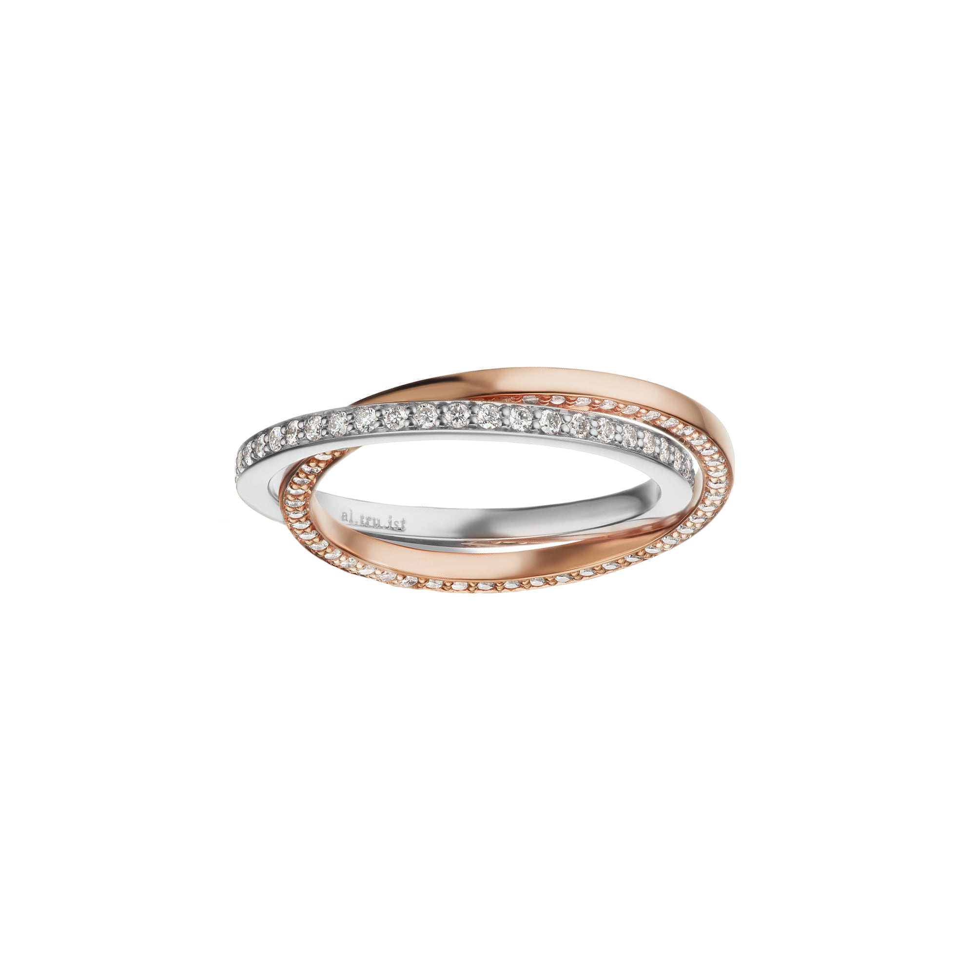 Altruist Espionne Ring II - Rose & White Gold - Rings - Broken English Jewelry
