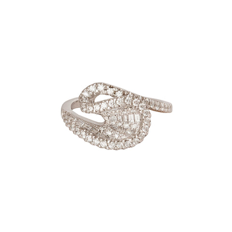 Talay Wave Diamond Ring - Kavant & Sharart  - Rings | Broken English Jewelry
