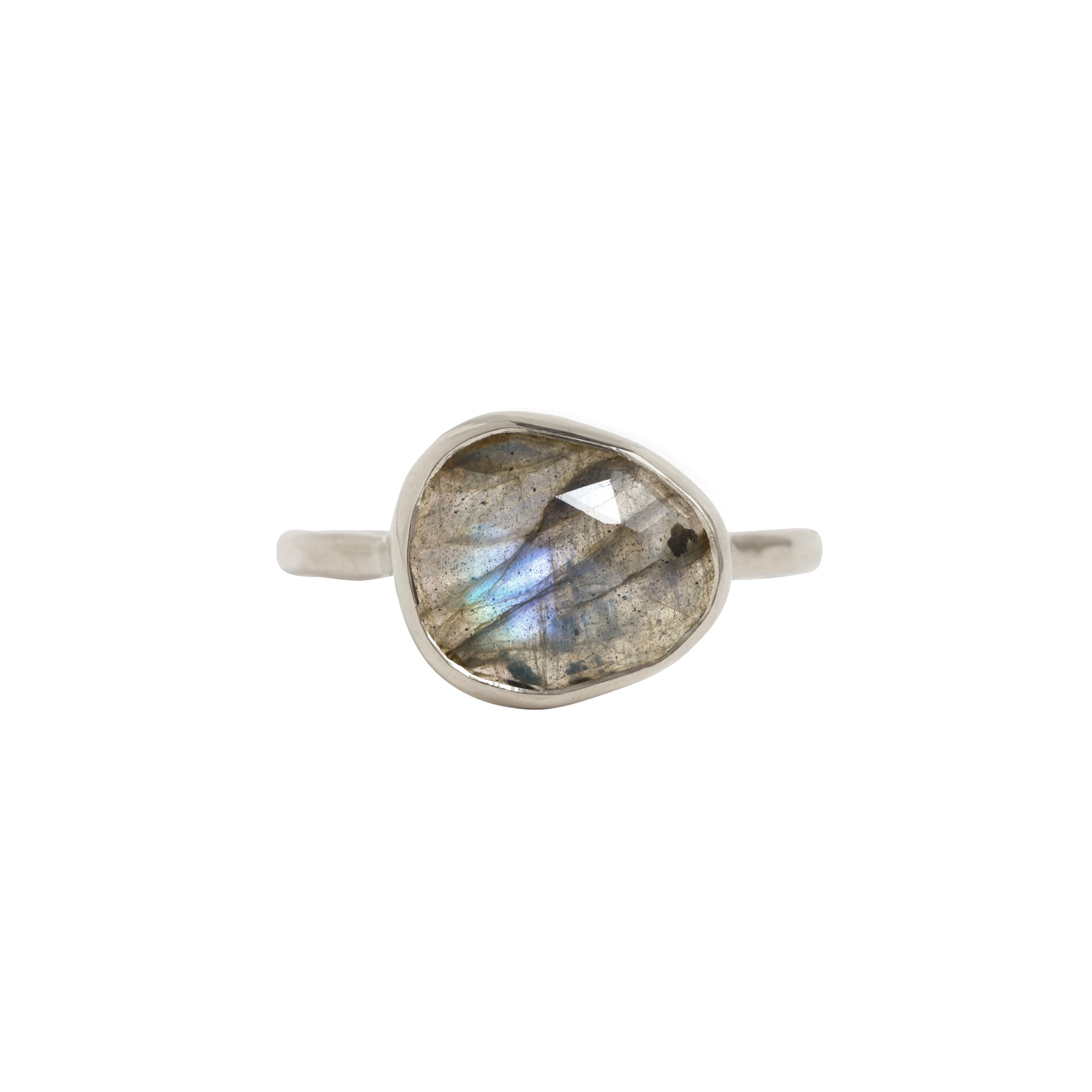 Melissa Joy Manning Freeform Ring - Labradorite - Rings - Broken English Jewelry