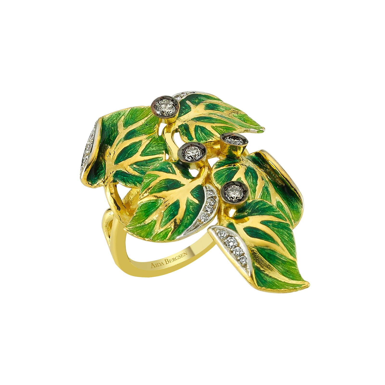 Aida Bergsen Convolvulus Climb Ring - Rings - Broken English Jewelry