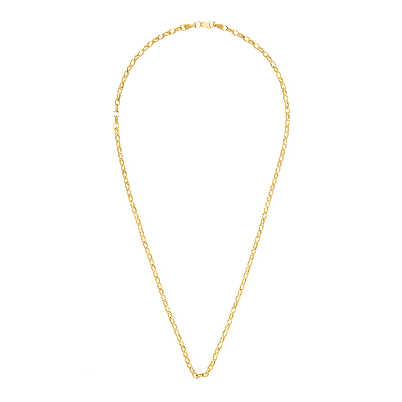 "BE by Broken English 18"" Oval Rolo Chain - 3.2mm - Necklaces - Broken English Jewelry"