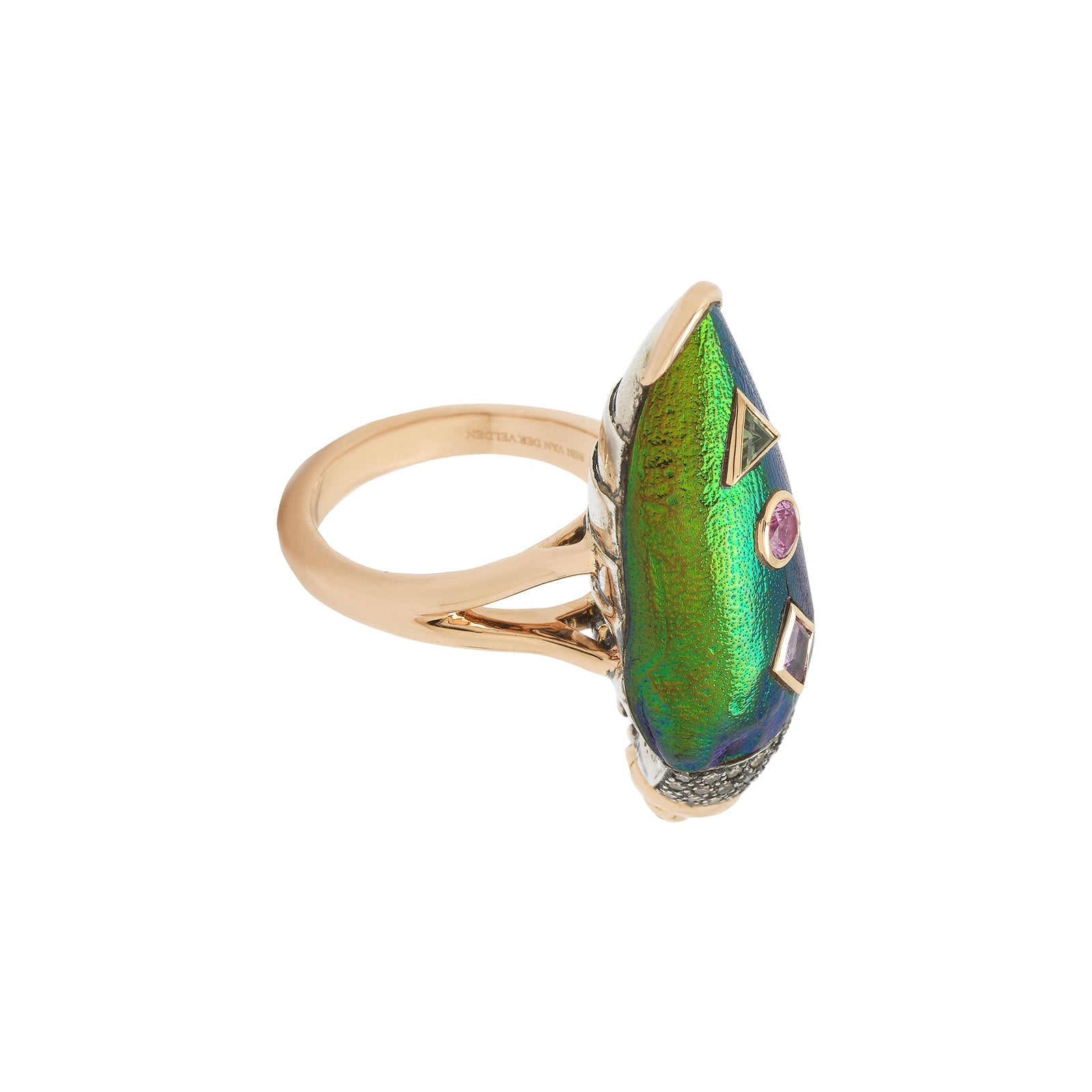Bibi van der Velden Scarab Pop Art Ring - Rings - Broken English Jewelry