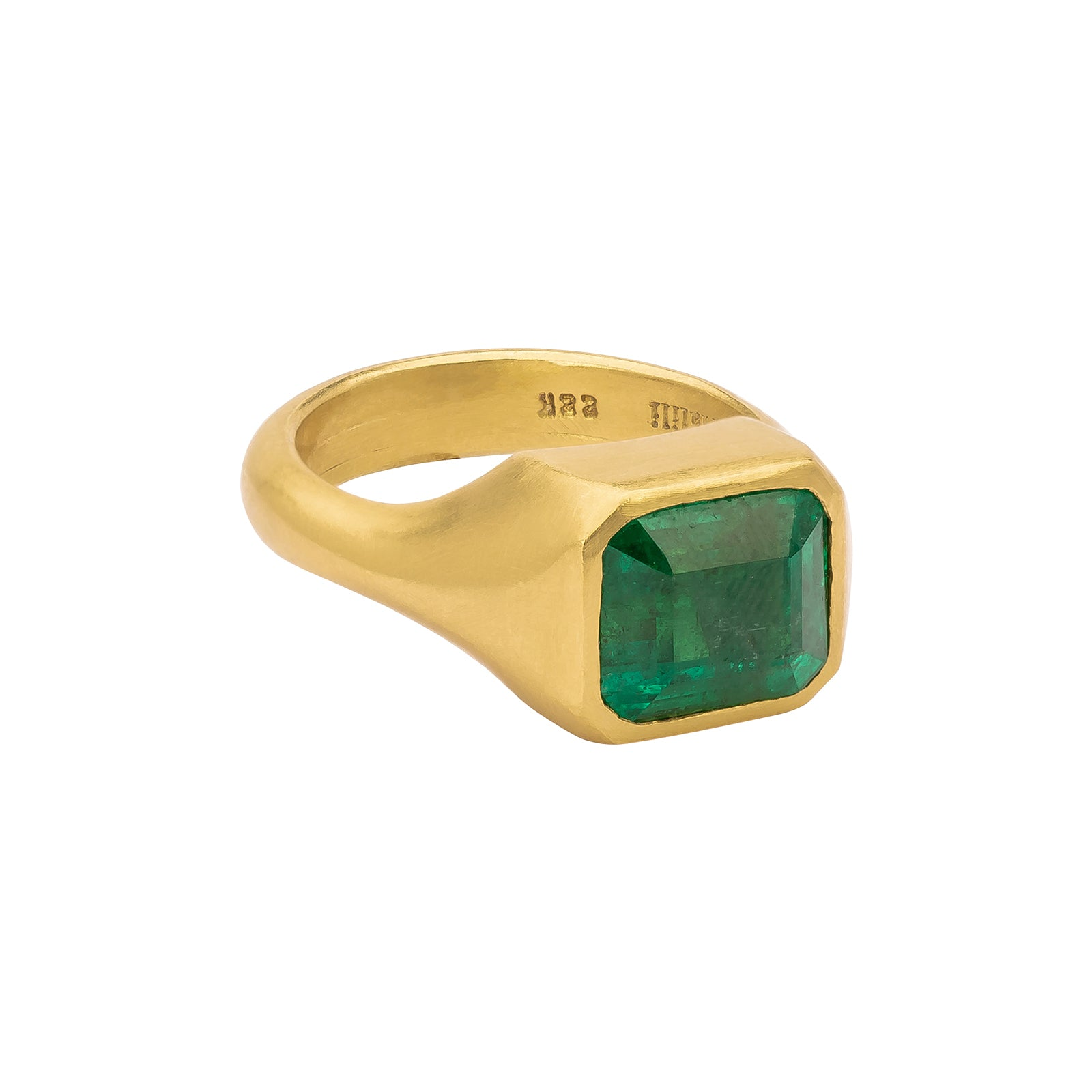Eli Halili Emerald Cut Emerald Ring - Rings - Broken English Jewelry