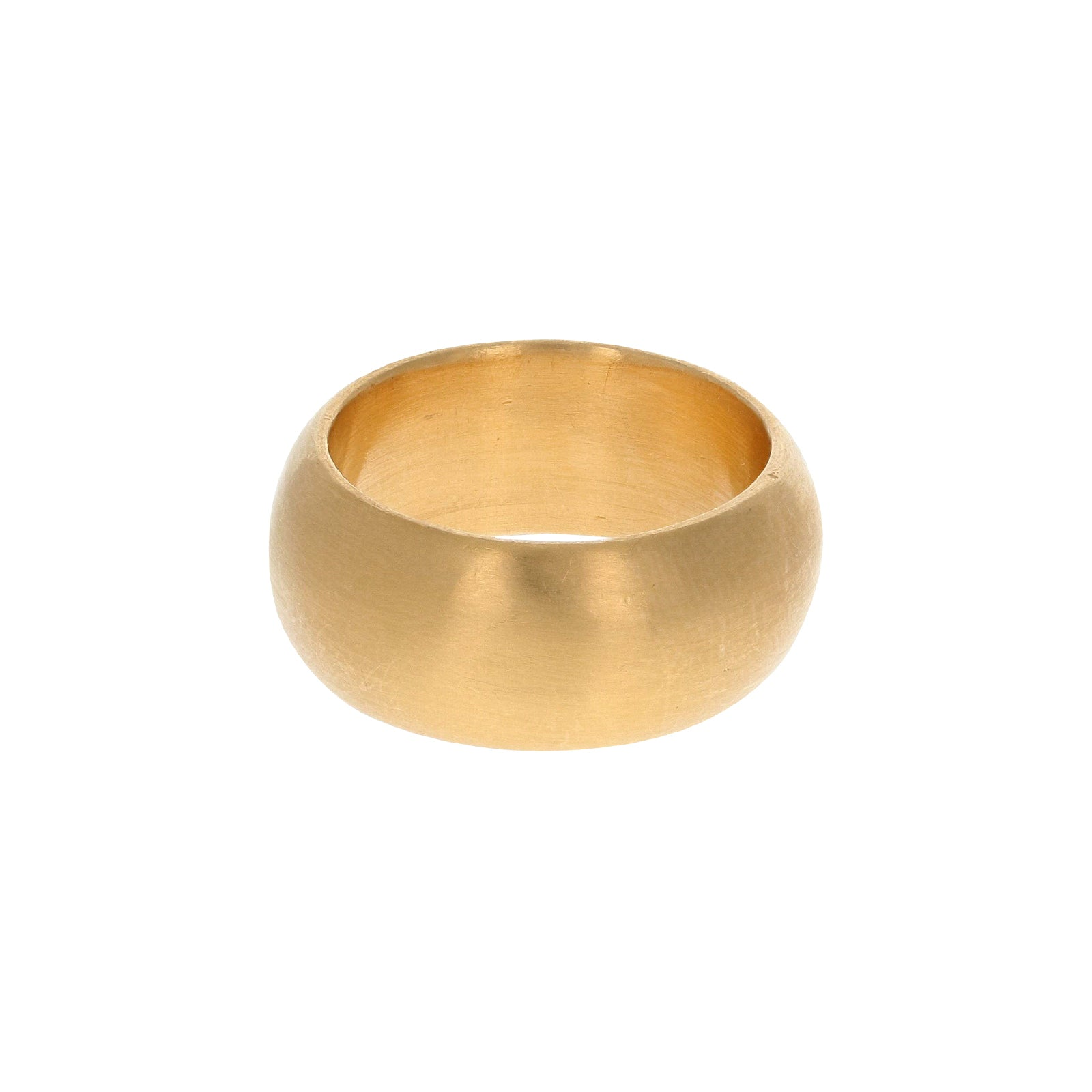Eli Halili Wide Rounded Band Ring - Rings - Broken English Jewelry