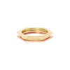 Gabriela Artigas & Company Hexagon Diamond Ring - Yellow & Rose Gold - Rings - Broken English Jewelry