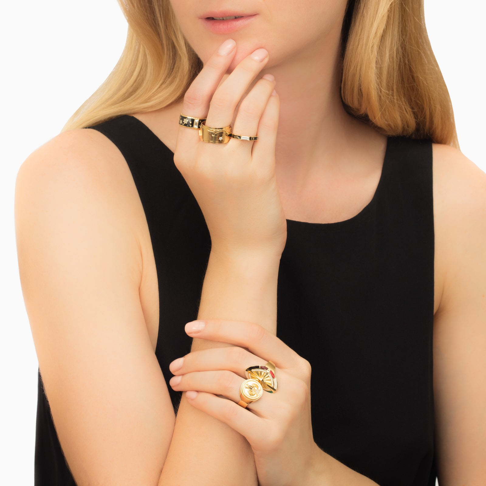 Scarab Protection Ring - Foundrae - Rings | Broken English Jewelry