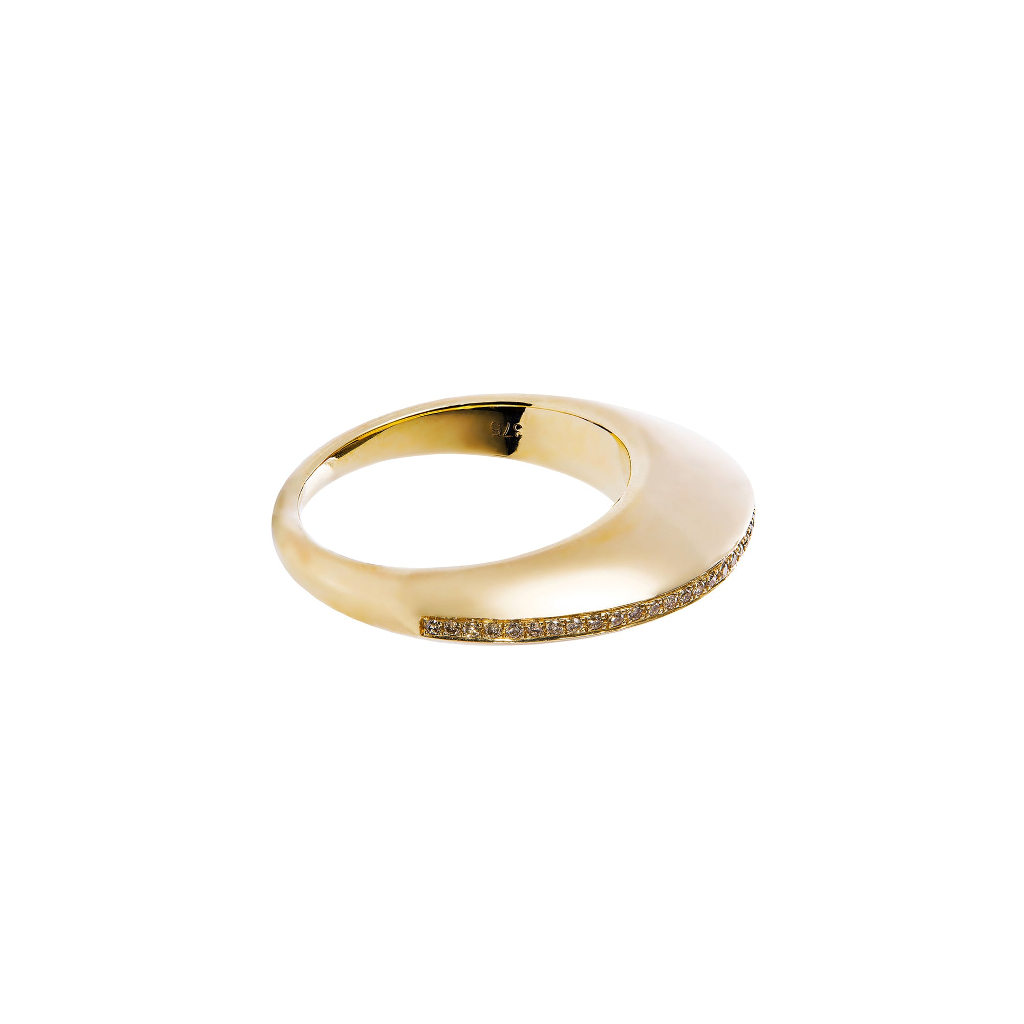 By Pariah Gold Linings - Rings - Broken English Jewelry