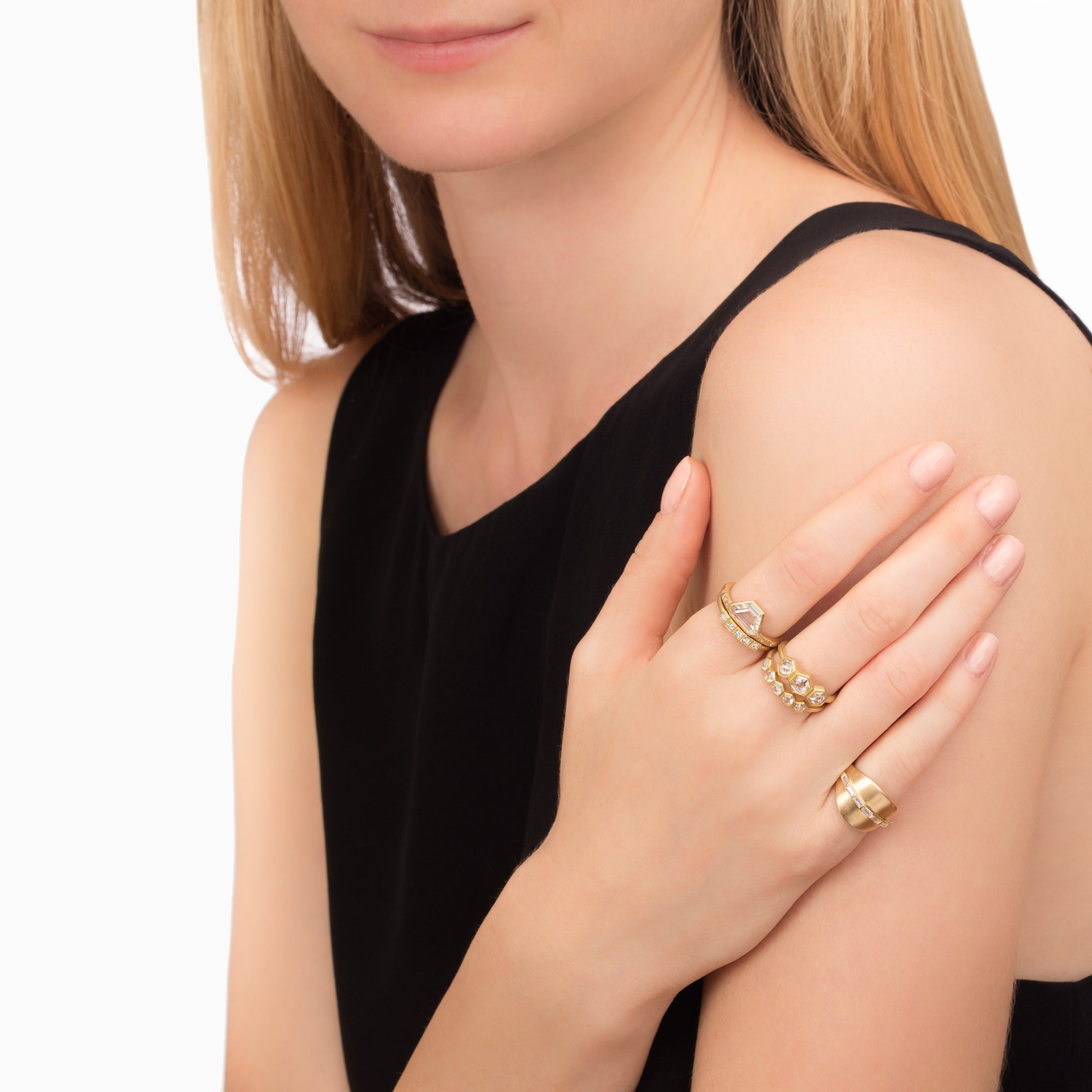 Michelle Fantaci Bonded Pinky Ring - Rings - Broken English Jewelry