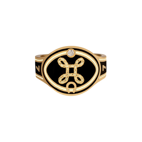 True Love Cigar Band - Foundrae - Rings | Broken English Jewelry