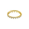Gabriela Artigas & Company End Bolt Diamond Ring - Yellow Gold - Rings - Broken English Jewelry