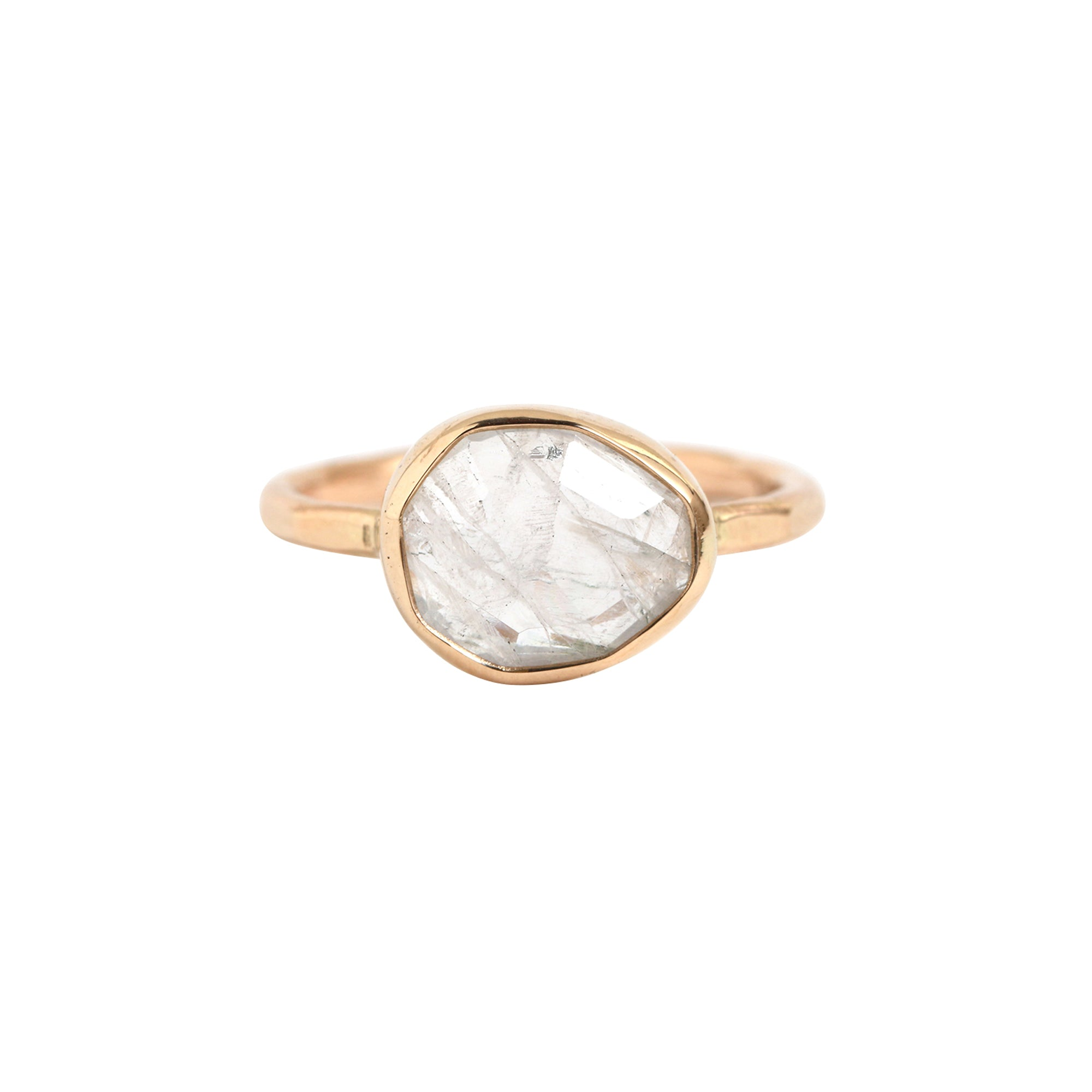 Melissa Joy Manning Freeform Ring - Rainbow Moonstone - Rings - Broken English Jewelry