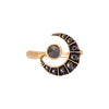 Ara Vartanian Crescent Ring - Black Diamond - Rings - Broken English Jewelry