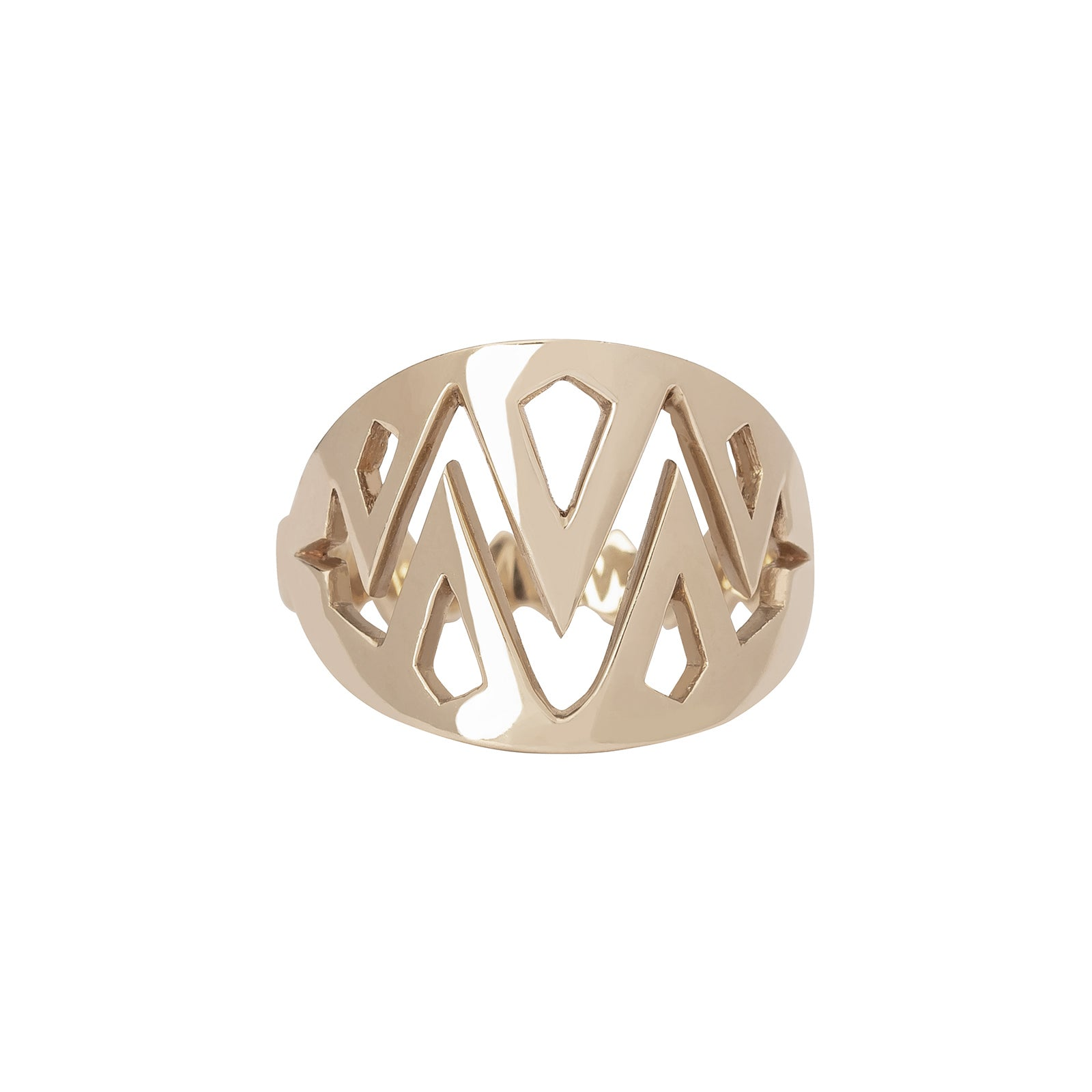 Ara Vartanian Jaws Ring - Rings - Broken English Jewelry