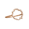 Cascade Eternity Circle Charm Ring by Rosa de la Cruz for Broken English Jewelry