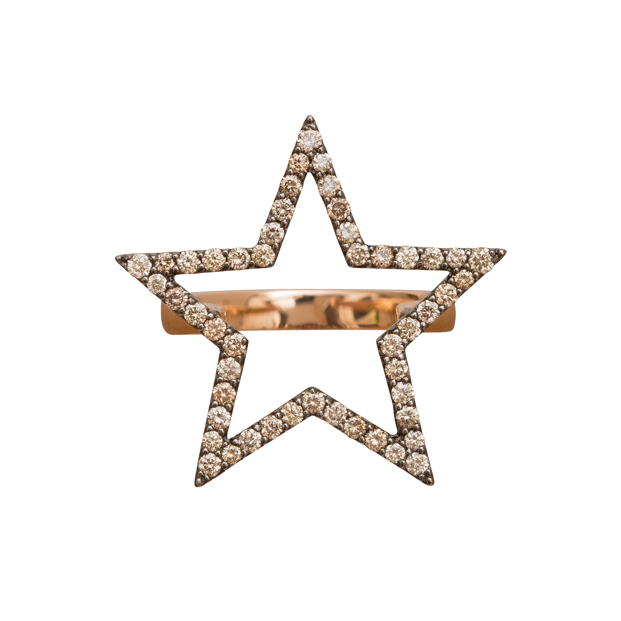25 mm Star Ring by Rosa de la Cruz for Broken English Jewelry
