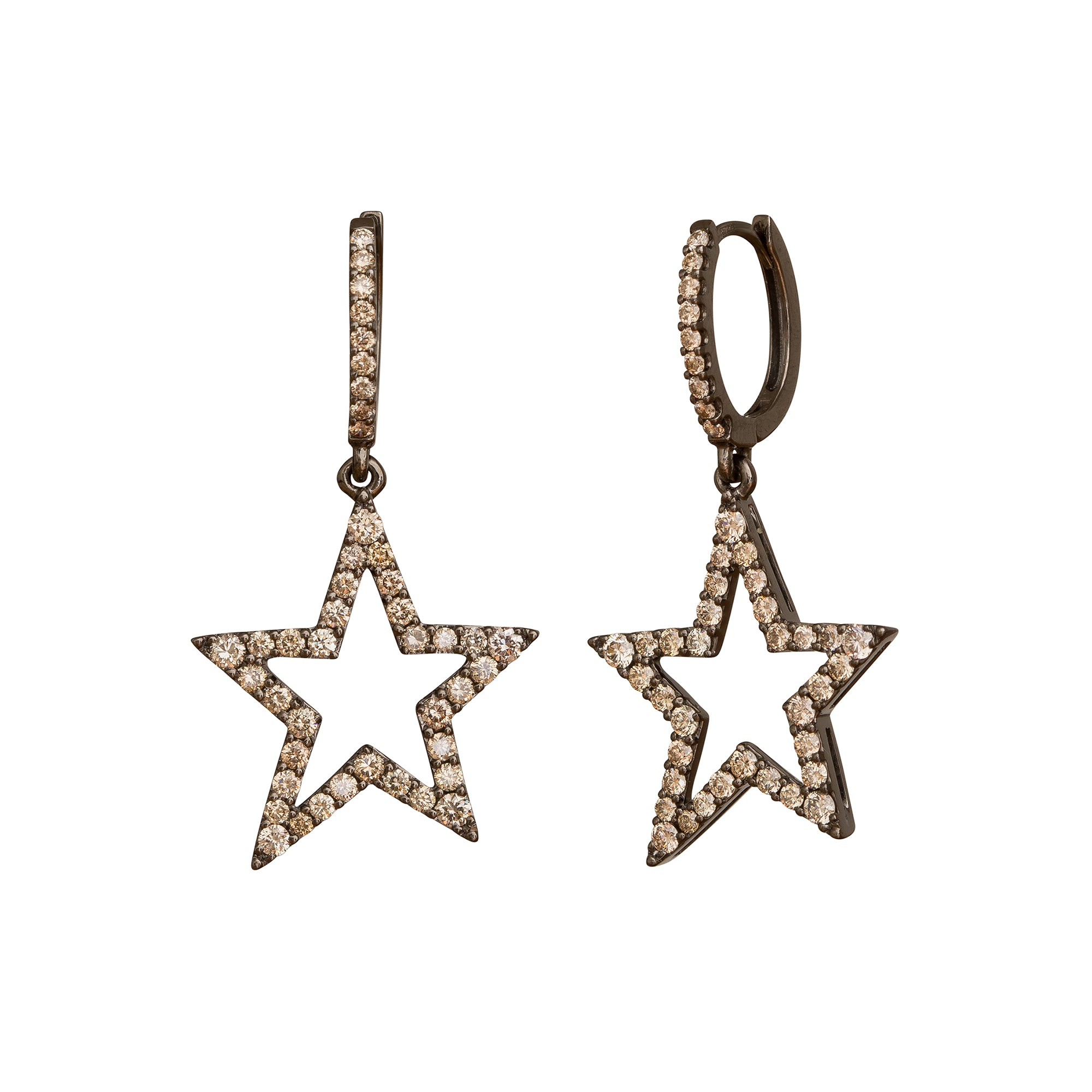 Star Earrings by Rosa de la Cruz for Broken English Jewelry