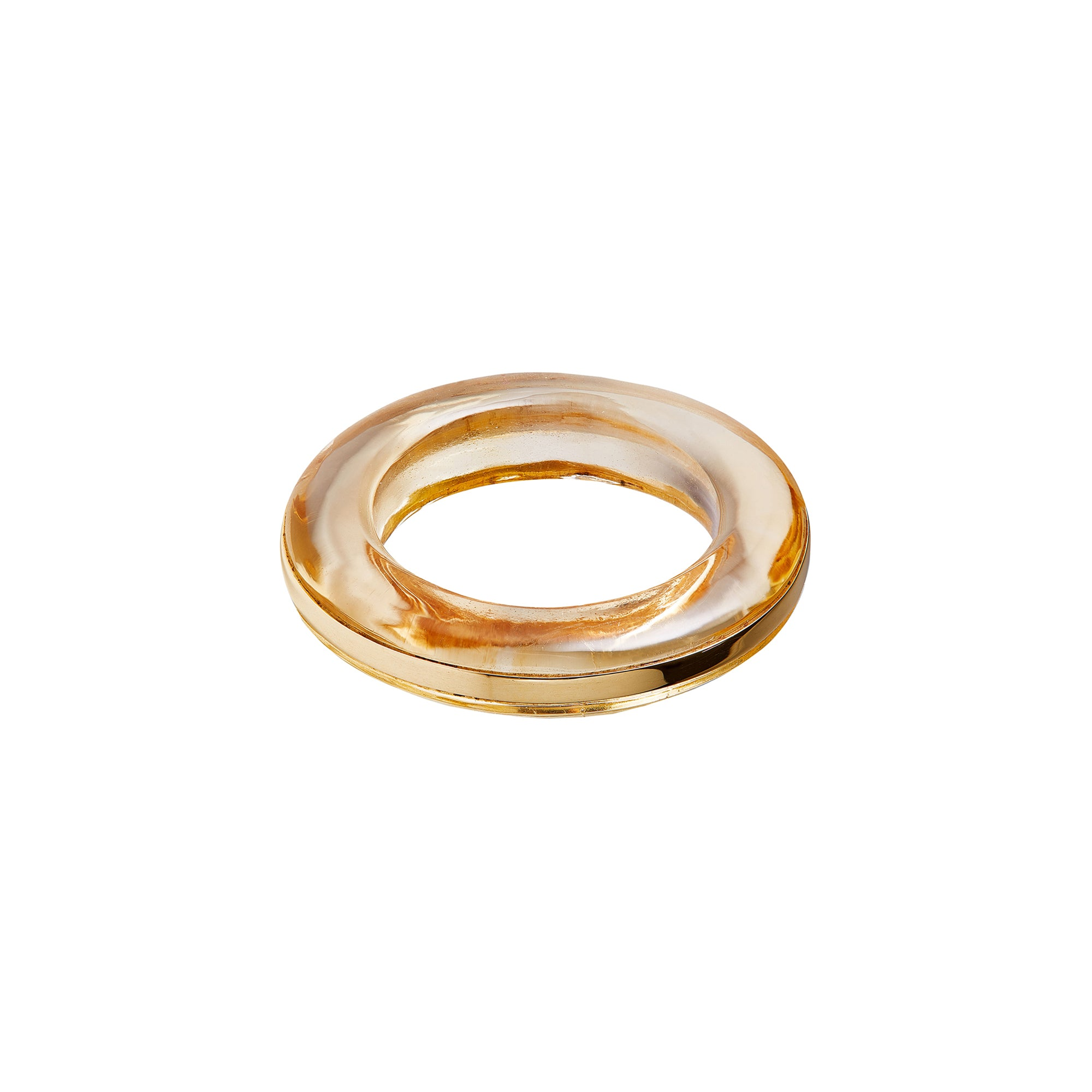 By Pariah Essential Stacking Ring - Citrine - Rings - Broken English Jewelry