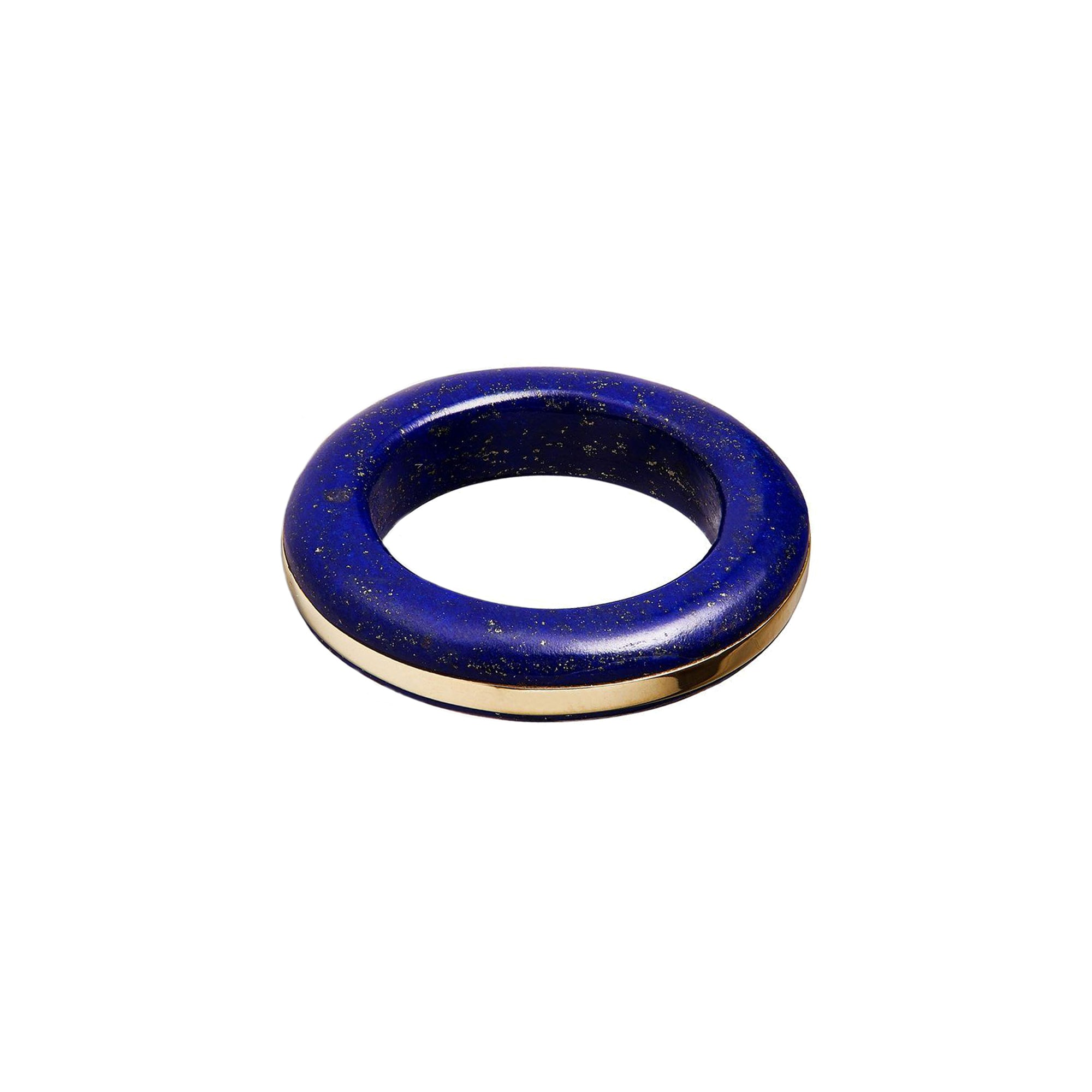 By Pariah Essential Stacking Ring - Lapis - Rings - Broken English Jewelry