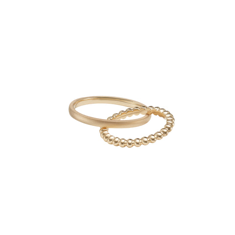 Boyfriend Gold Ring - Sandrine de Laage - Rings | Broken English Jewelry