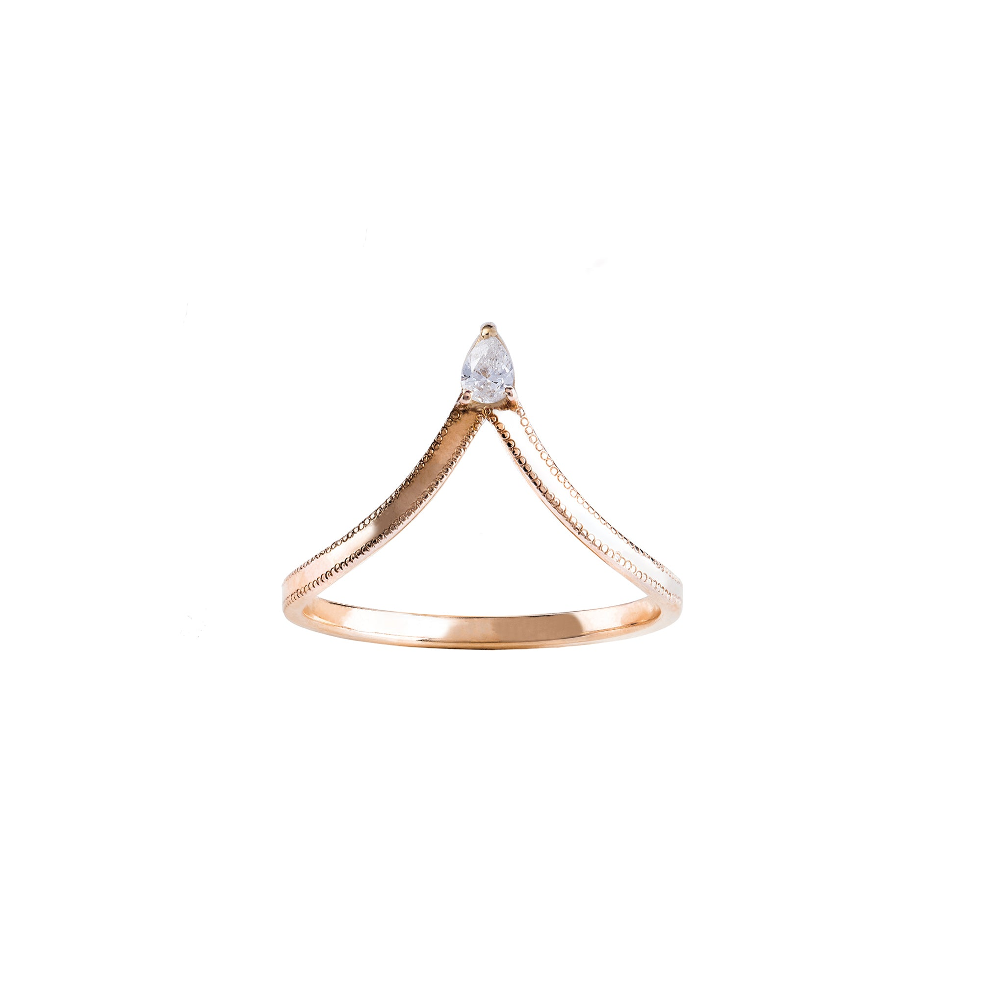 Jenny Dee Asterope Ring - Diamond - Rings - Broken English Jewelry