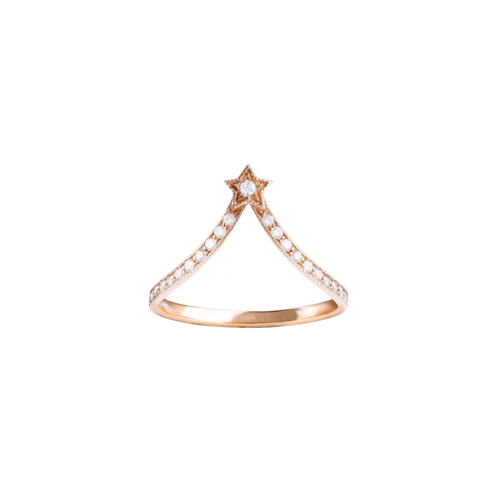 Jenny Dee Merope Ring - Diamond - Rings - Broken English Jewelry