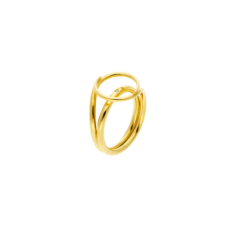 Medium FLUENT Ring - MISUI - Rings | Broken English Jewelry