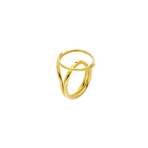 Large FLUENT Ring - MISUI - Rings | Broken English Jewelry