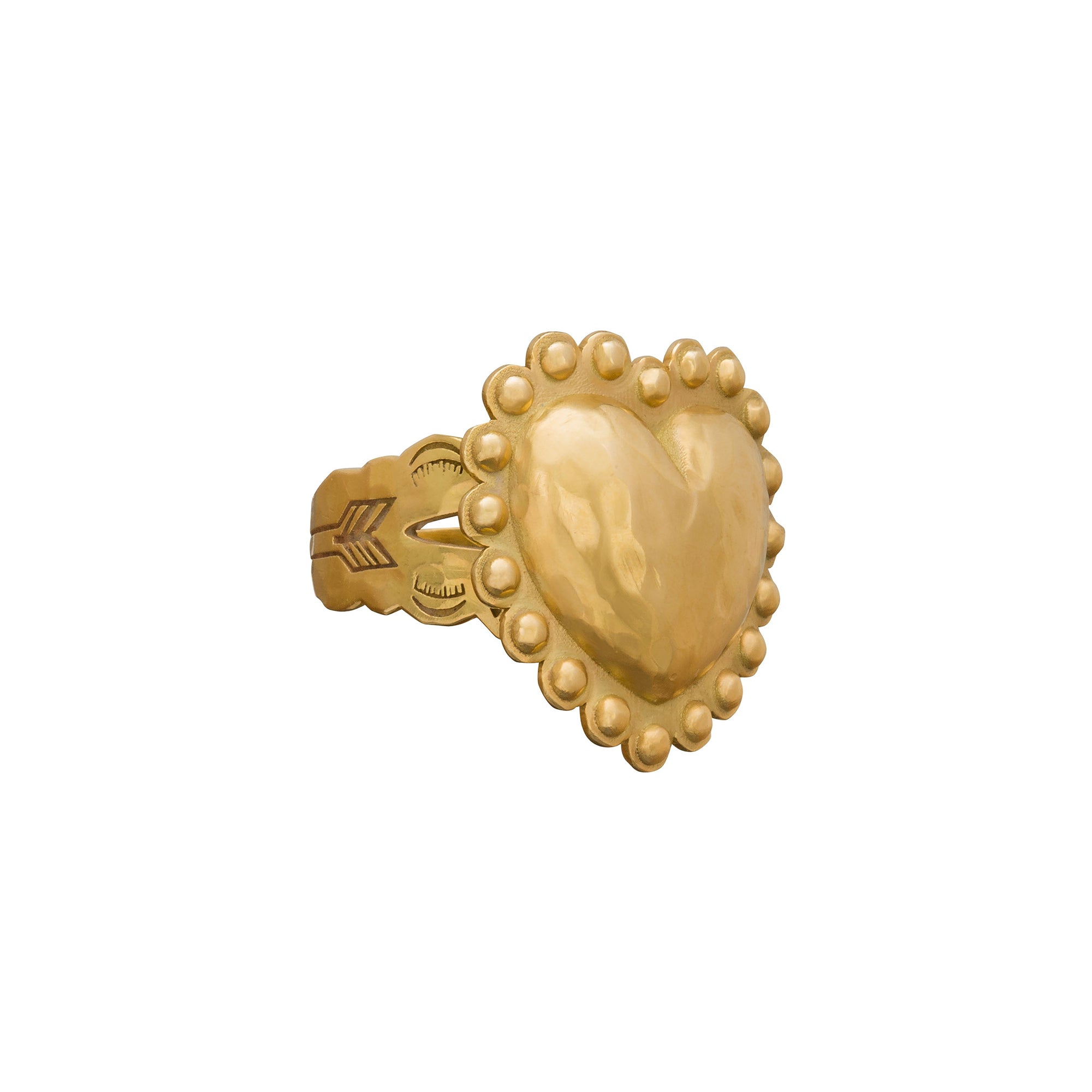 Native American Heart Ring - Christina Alexiou - Rings | Broken English Jewelry