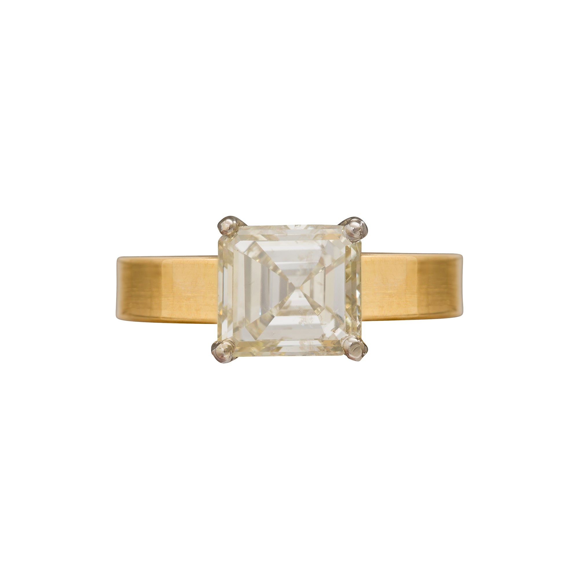 Asher Cut Diamond Ring by Renee Lewis for Broken English Jewelry