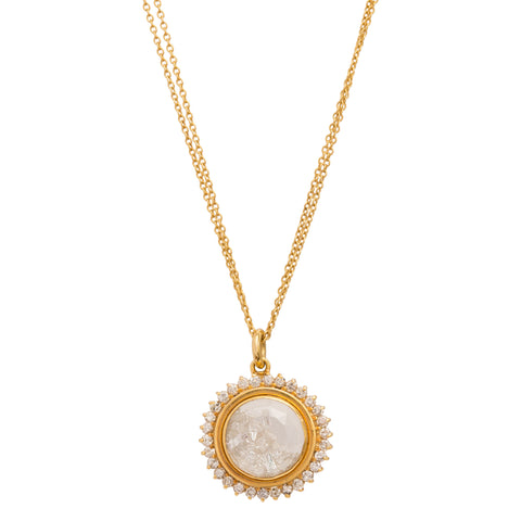 Sun Shake Necklace by Renee Lewis for Broken English Jewelry