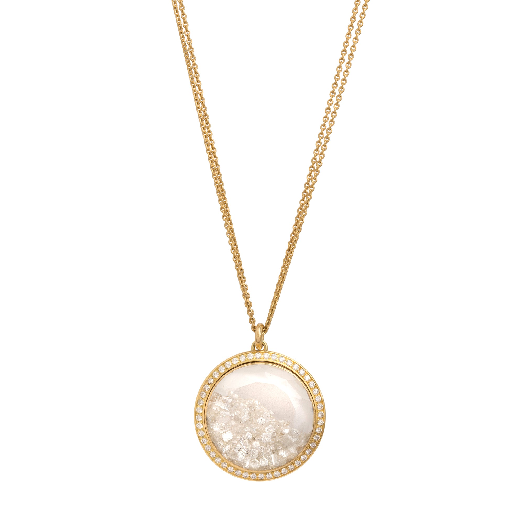 Round Shake Necklace by Renee Lewis for Broken English Jewelry