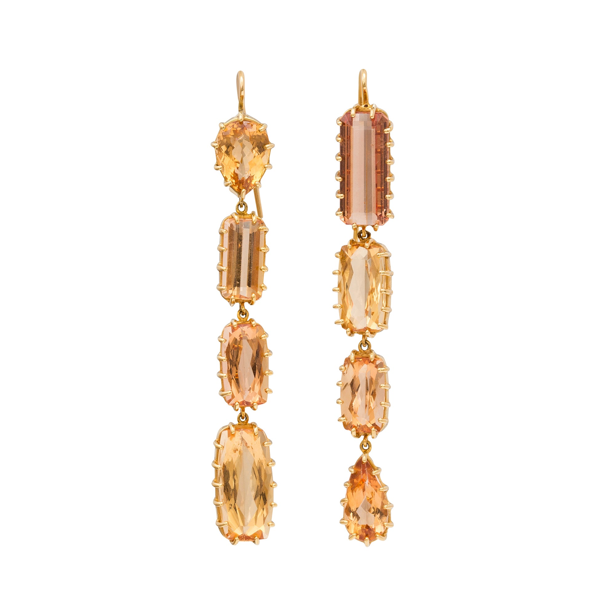 Topaz Earrings by Renee Lewis for Broken English Jewelry