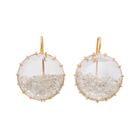 Round Shake Earrings by Renee Lewis for Broken English Jewelry