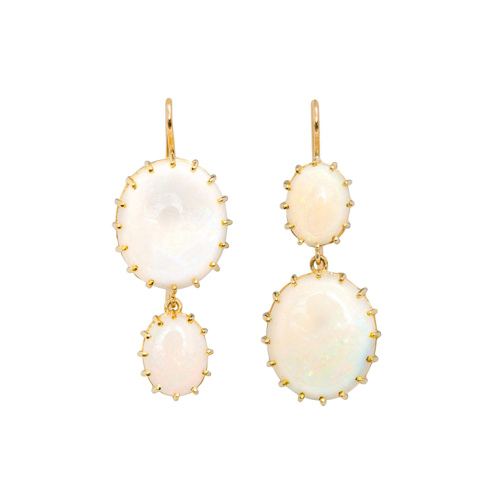 Opal Earrings by Renee Lewis for Broken English Jewelry