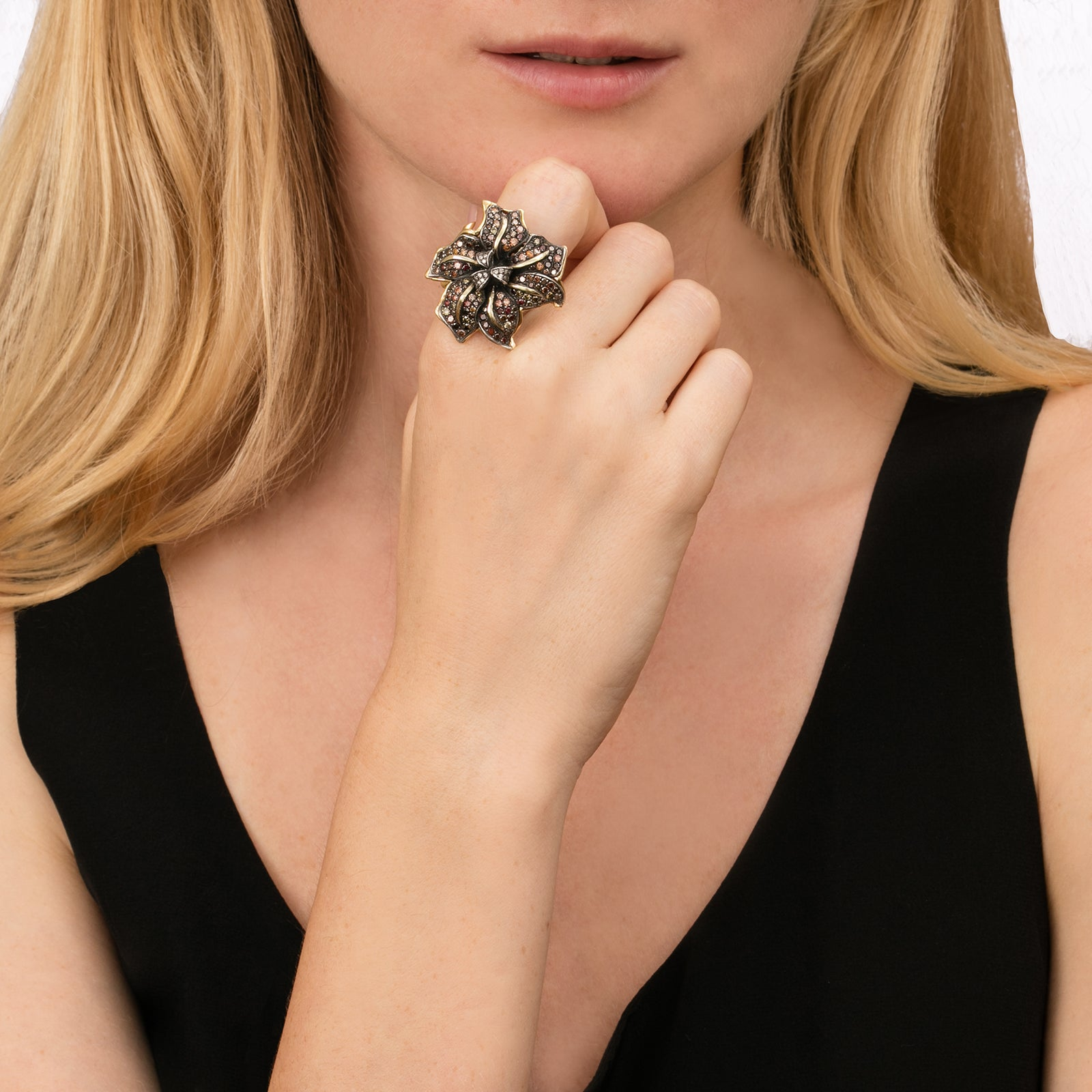 Large Flora Ring - Aida Bergsen - Rings | Broken English Jewelry