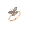 Aida Bergsen Butterfly Ring - Diamond - Rings - Broken English Jewelry