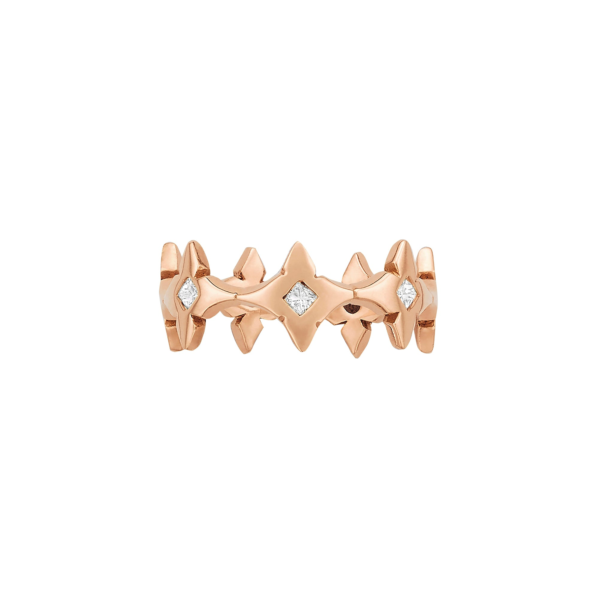 Clover Princess Eternity Ring - Ilene Joy - Rings | Broken English Jewelry