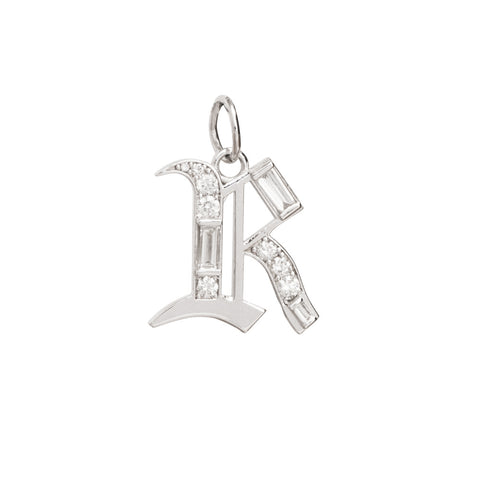 R Charm by Foundrae for Broken English Jewelry