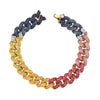 Shay Rainbow Essential Link Bracelet - Bracelets - Broken English Jewelry