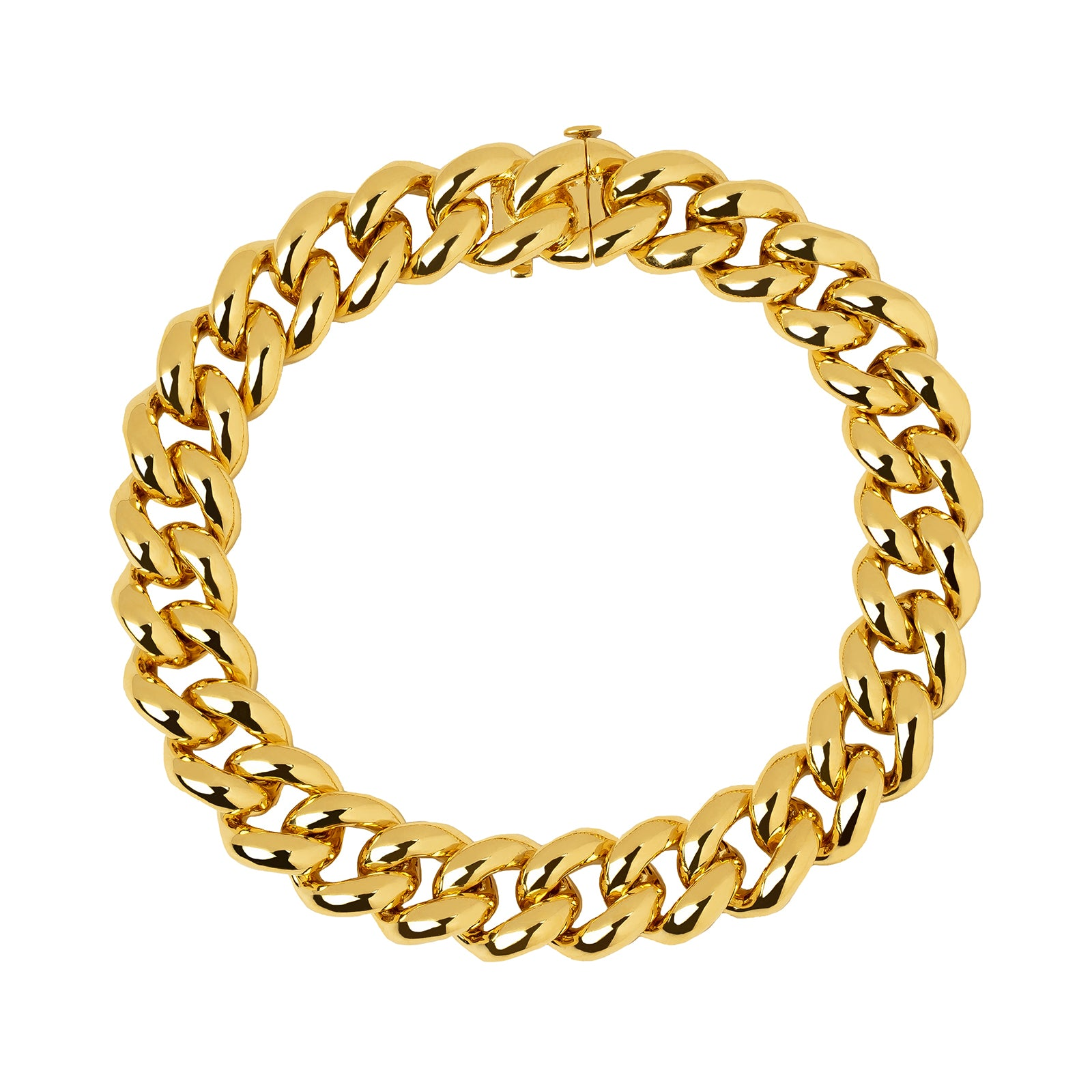 Shay Essential Link Bracelet - Yellow Gold - Bracelets - Broken English Jewelry
