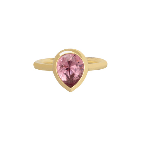 Color Change Garnet Sunset Kiss Gemstone Ring - ANDY LIF Jewelry - Rings | Broken English Jewelry