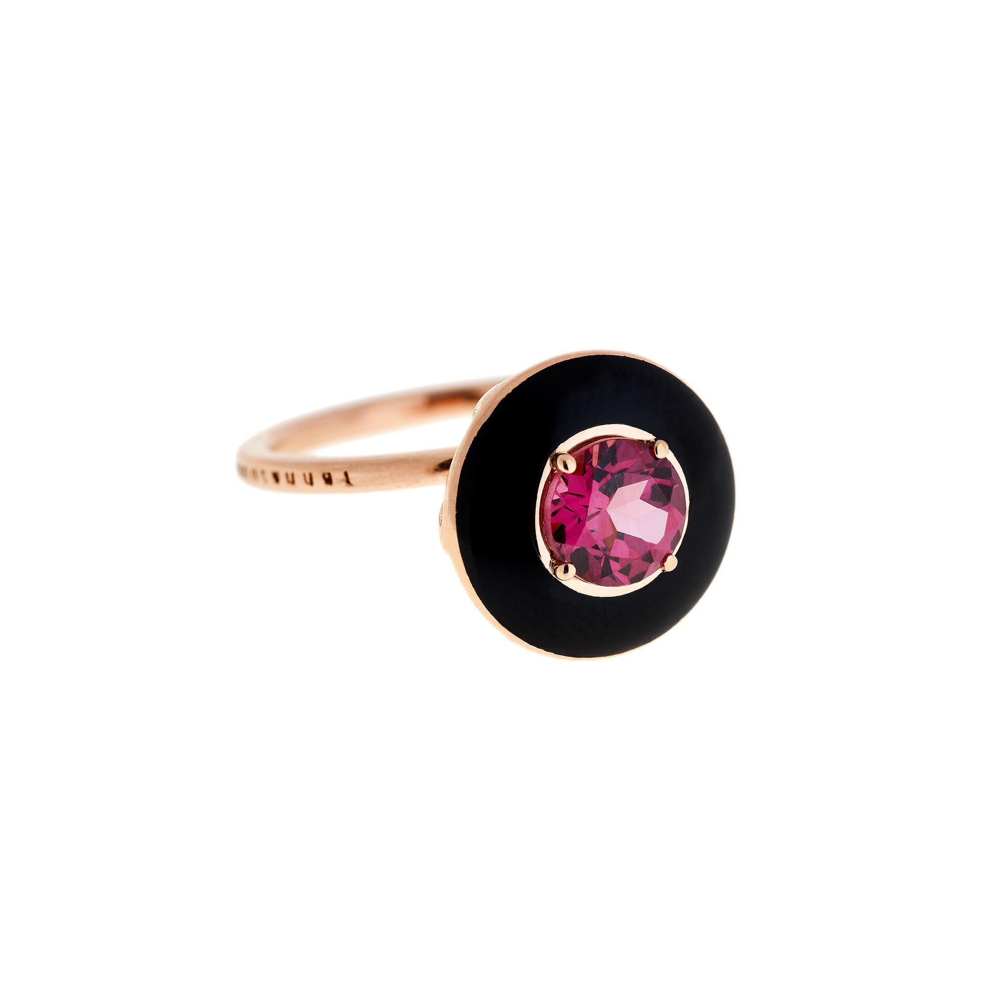 Selim Mouzannar Mina Rhodolite Ring - Rose Gold - Rings - Broken English Jewelry