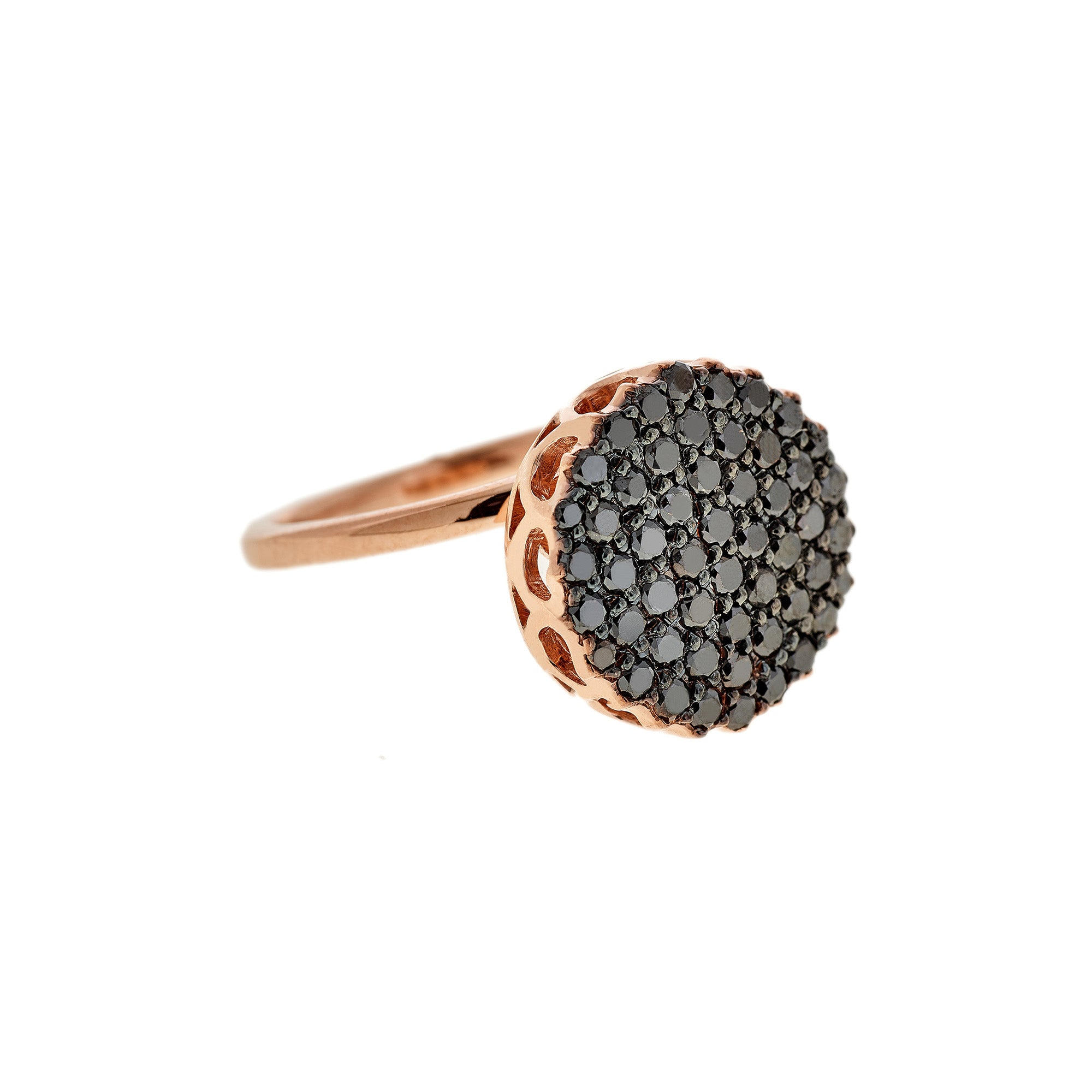 Black Diamond Ring by Selim Mouzannar for Broken English Jewelry