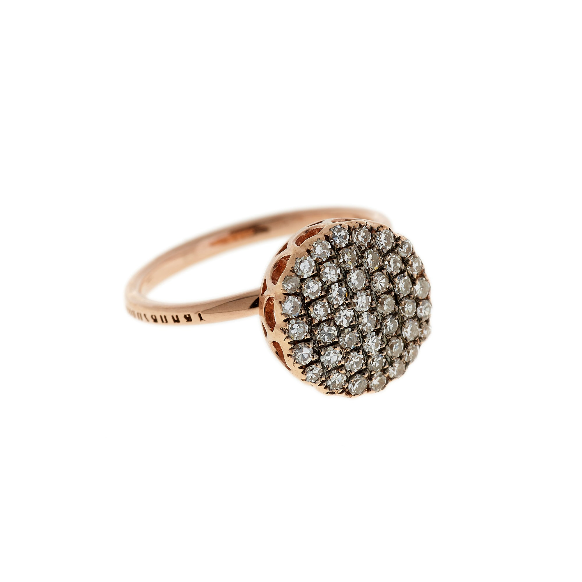 Diamond Ring by Selim Mouzannar for Broken English Jewelry