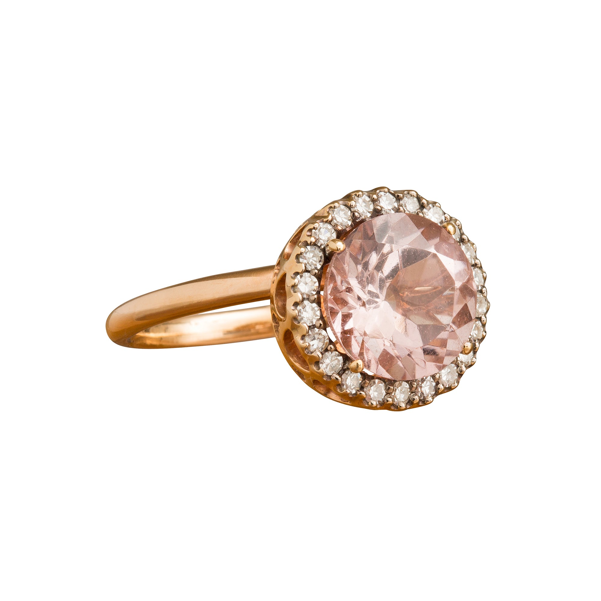 Beirut Morganite Ring by Selim Mouzannar for Broken English Jewelry