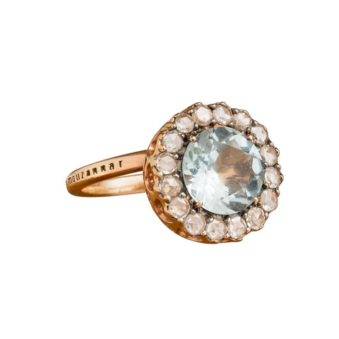 Beirut Aquamarine Ring by Selim Mouzannar for Broken English Jewelry
