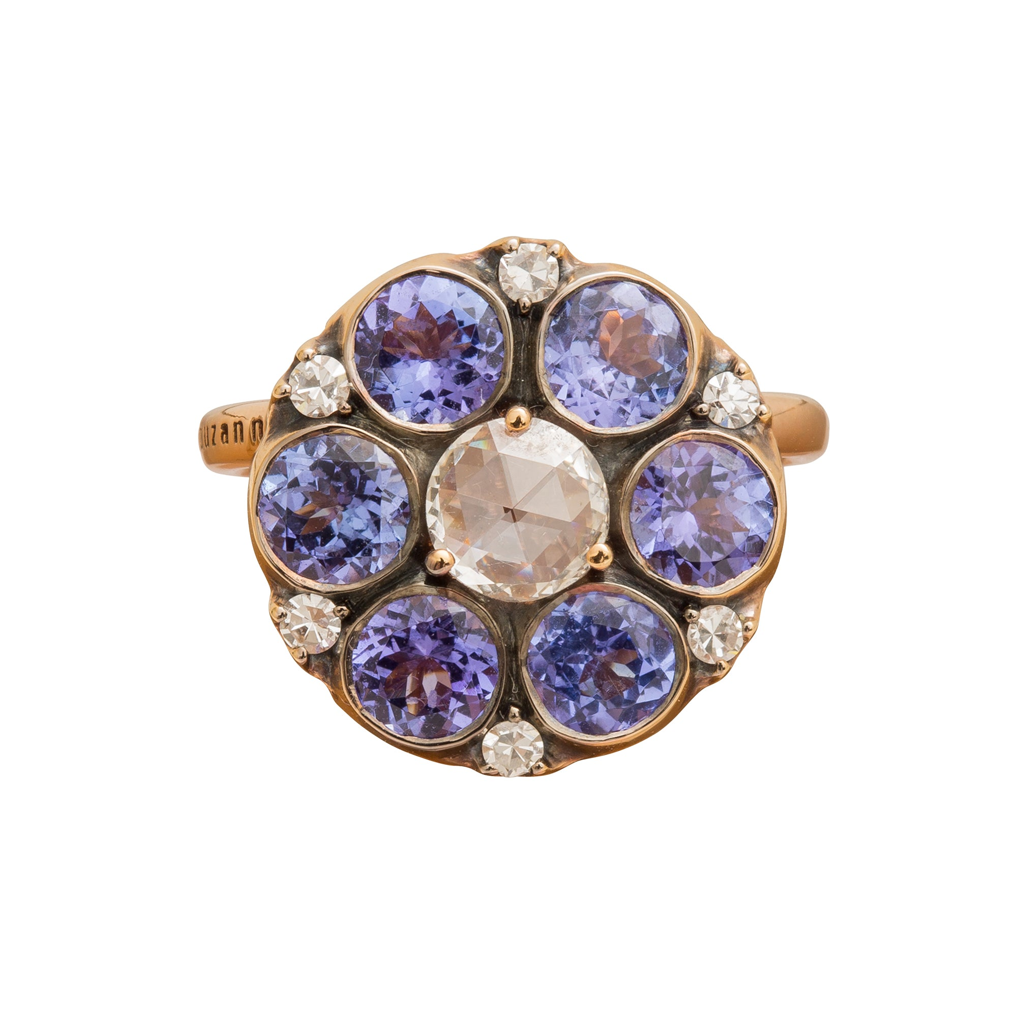 Beirut Tanzanite Ring by Selim Mouzannar for Broken English Jewelry