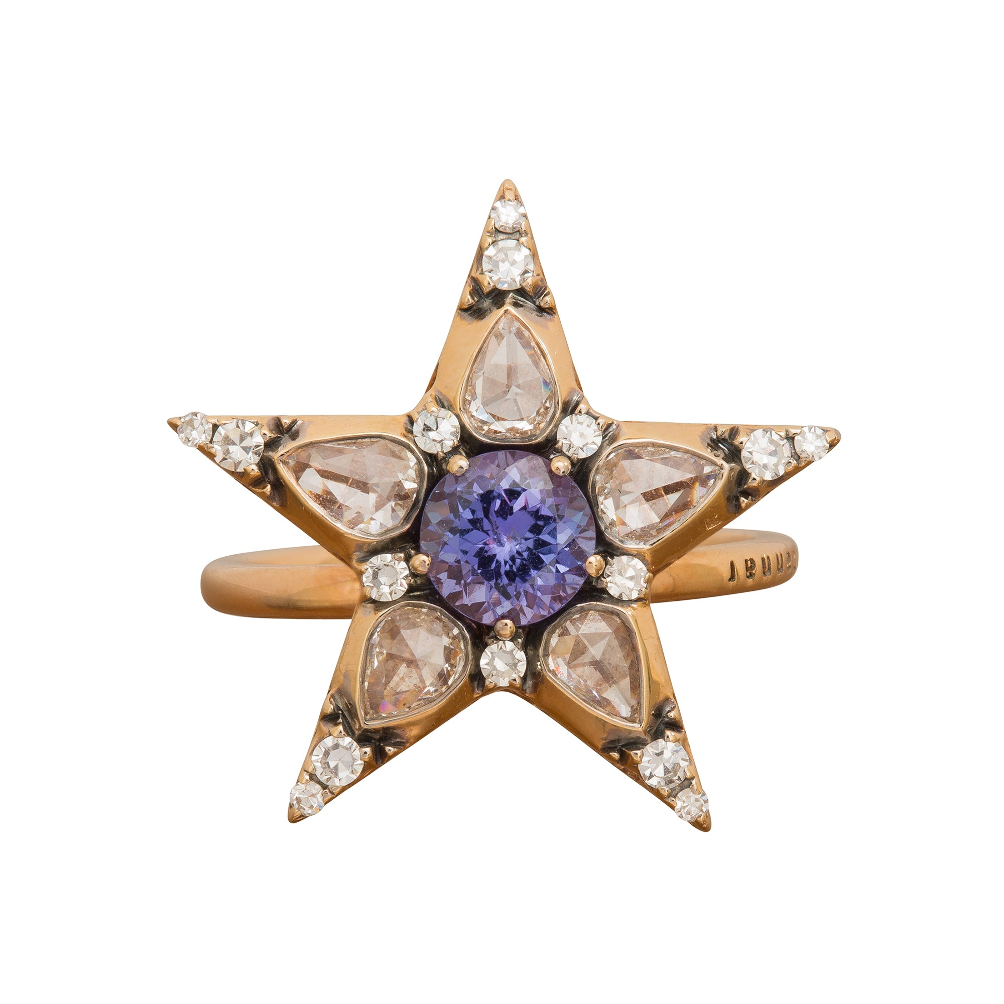 Istanbul Star Ring by Selim Mouzannar for Broken English Jewelry